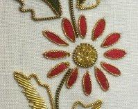 goldwork flower
